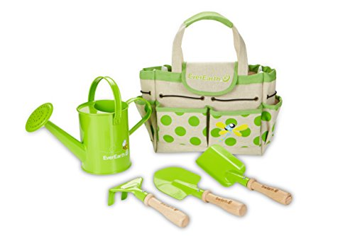 EverEarth Childrens Gardening Bag with Tools EE33646 by EverEarth