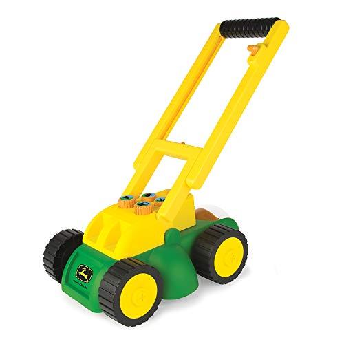 TOMY 35060 - Rasaerba elettronico John Deere, giocattolo per bambini, colore: Verde