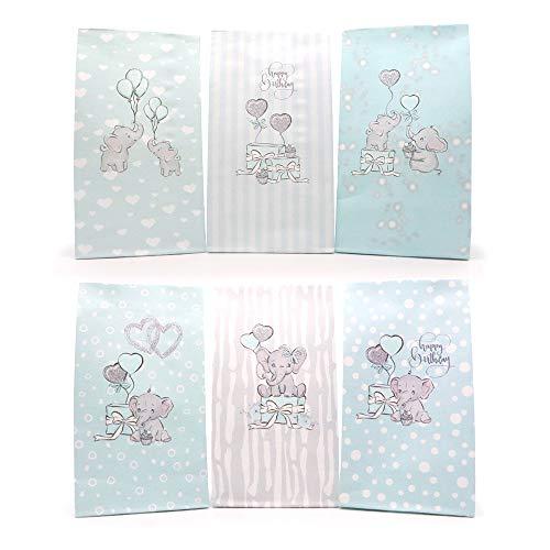 Sinoest Calendario dell'avvento da riempire con sacchetti di carta per caramelle, sacchetti di...
