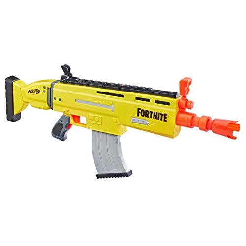 Hasbro Nerf- AR-L (Blaster Scar Ufficiale con 20 dardi Nerf Fortnite), Multicolore, 6.7 x 78.7 x...
