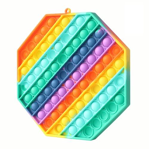 Fettinow Pop Its Grande Fidget Toy - Giocattolo Antistress Push Pop Grande - Pop Its Gigante...