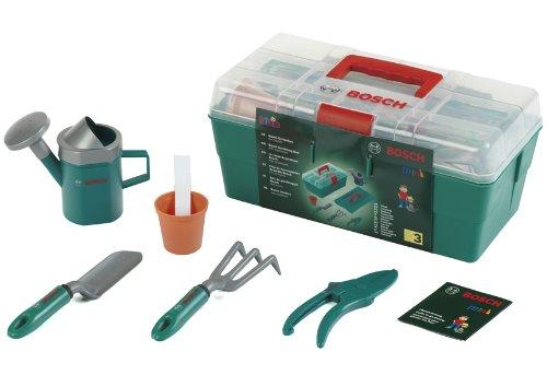Theo Klein 2791 - Bosch Box Professionale Da Giardinaggio Con Accessori