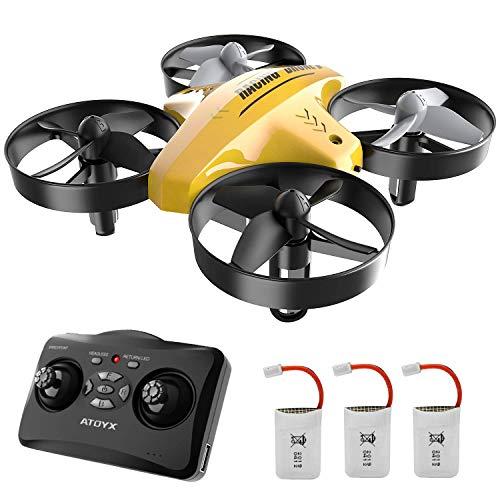 Mini Drone per Bambini 66C,3 velocità 3D Flip Protezioni a 360°, Funzione di Sospensione...