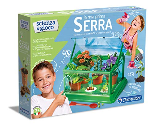 Clementoni Scienza e Gioco-La Mia Prima Serra, laboratorio scientifico-Made in Italy, Multicolore,...