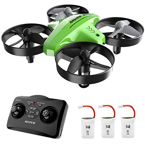 Mini Drone,Drone per Bambini,Funzione Hovering,Modalità Senza Testa,Rotazione a...
