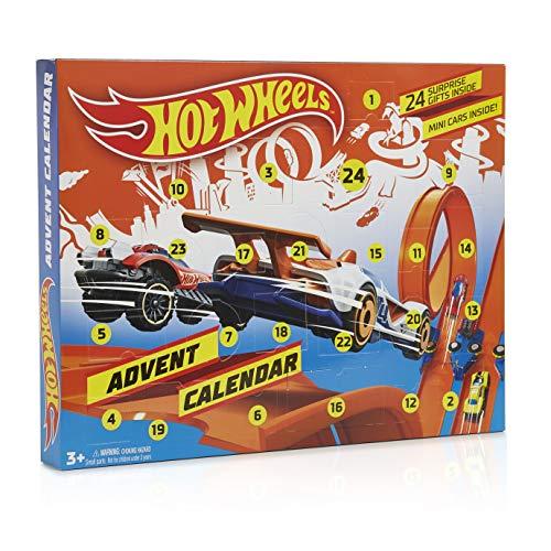 Hot Wheels Calendario Avvento 2019, Calendario dell'Avvento con Giochi Macchinine Giocattolo,...