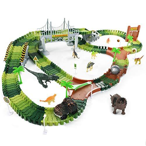 Fajiabao Dinosauri PistaMacchinine - GiochiPistaMacchine 216 Pezzi...