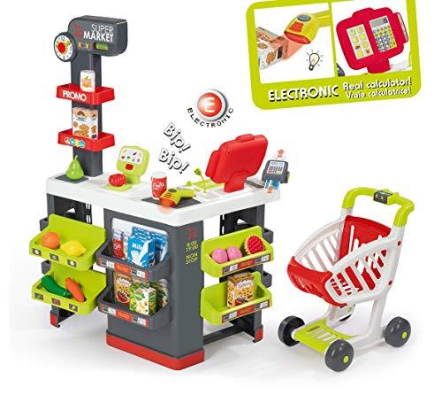 Smoby- Super Market, Multicolore, 7600350213