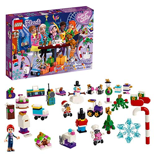 LEGO- Friends Heartlake Calendario dell'Avvento Set di Costruzione, Multicolore, 41382