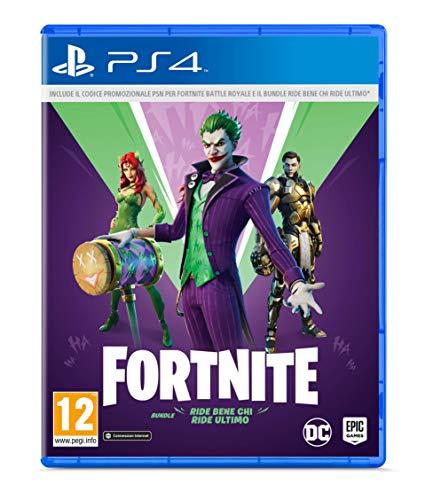 Fortnite Ride Bene Chi Ride Ultimo, Bundle, PlayStation 4 (include Codice di Downlaod - Non contiene...