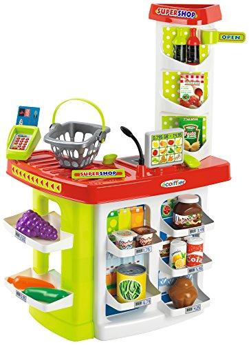 Ecoiffier- Super Shop con Accessori, Multicolore, 7600001784