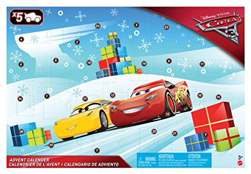Disney - Cars- Calendario dell'Avvento, FGV14