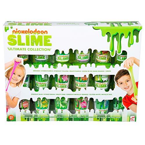 Sambro Nickelodeon Ultimate Collection, Confezione da 18 barattoli di melma Unico, Regalo, Perfetto...