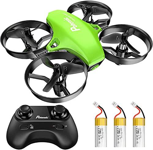 Potensic Mini Drone A20 con 3 Batterie per Bambini e Principianti Quadricottero RC Drone Giocattolo...