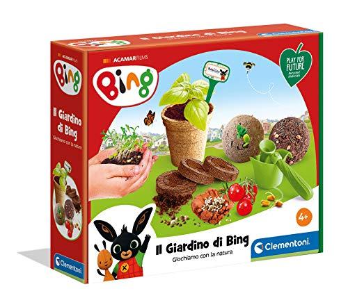 Clementoni giardino di Bing-Play For Future-Made in Italy-orto botanico-gioco educativo (versione in...