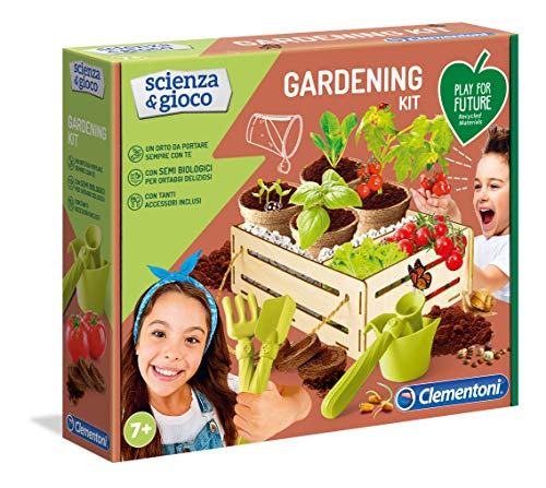 Clementoni - 19153 - Scienza E Gioco - Gardening Kit - Made In Italy - Play For Future - Gioco...