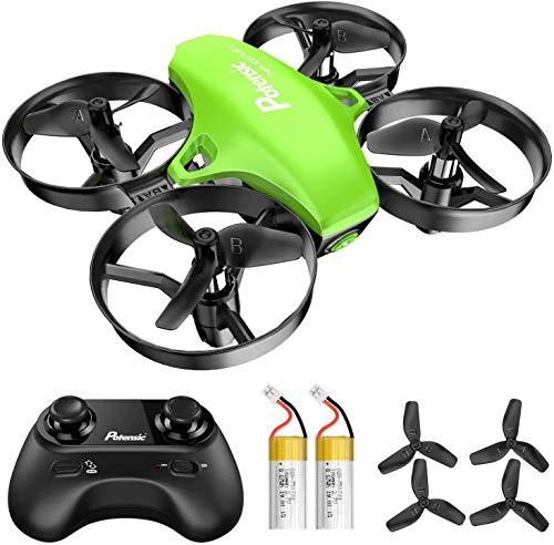 Potensic Mini Drone A20 con Due Batterie per Bambini e Principianti Quadricottero RC Drone...