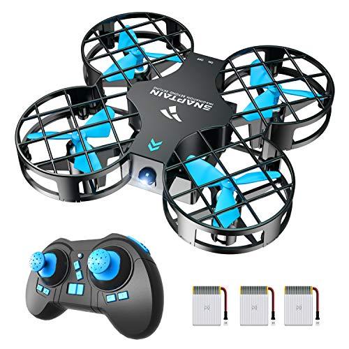 SNAPTAIN H823H Plus Mini Drone per Bambini, Funzione Lancia&Vola, Funzione Hovering, Modalità Senza...