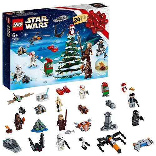 LEGO- Star Wars Classic Calendario dell'Avvento per Aspettare Il Natale con MiniSet di Costruzioni,...