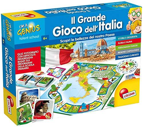 Lisciani Giochi 51156 Il Grande Gioco Dell'Italia