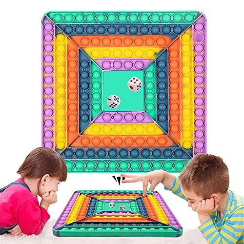 PopIts Gigante Fidget Toys, Giochi da Tavolo Antistress Game Among Us Estrusione Piazza Gioco,...