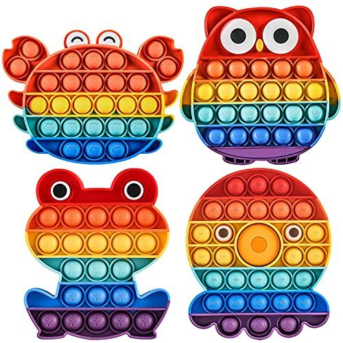 Pop it Fidget Toy Set Popit Gioco Antistress Giocattoli Push Pop Bubble Sensoriale Fidget Toys Kit...