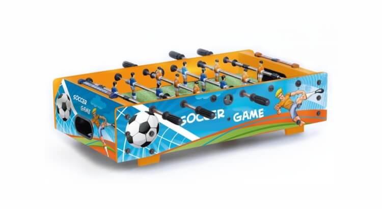 Migliori grandi gonfiabili con scivolo:Calcio balilla da tavolo F-MINI di Garlando