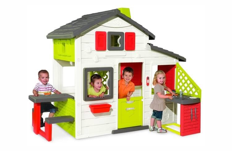 Migliori casette per bambini da giardino: Casetta Amica con zona cucina di Smoby
