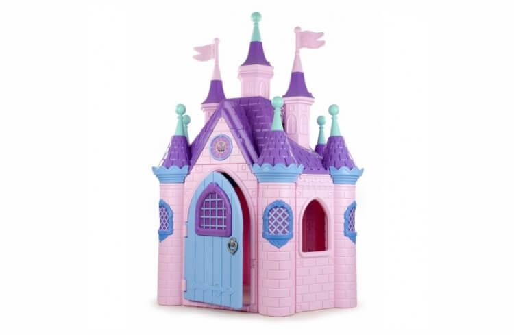 Migliori casette per bambini da giardino: Super Castello delle Principesse di Feber