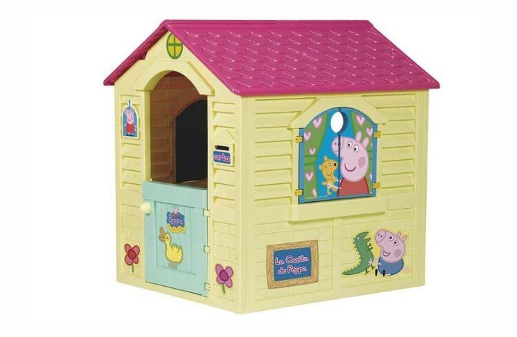 Migliori casette per bambini da giardino: La Casetta di Peppa Pig di Fábrica de Juguetes
