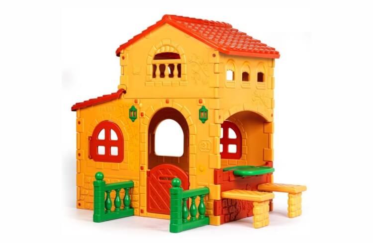 Migliori casette per bambini da giardino: Grande Villa di Feber