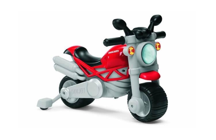 Migliori macchine cavalcabili:Moto Ducati Monster di Chicco