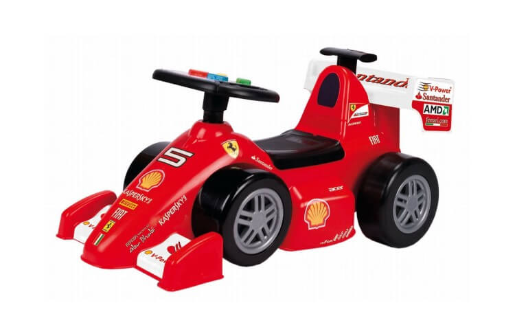Migliori macchine cavalcabili:Ferrari F10 di Feber