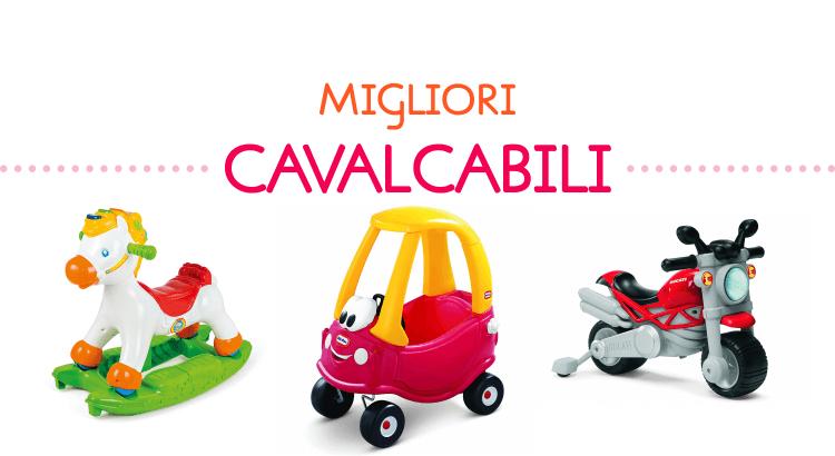 10 migliori giocattoli cavalcabili: macchine e non solo