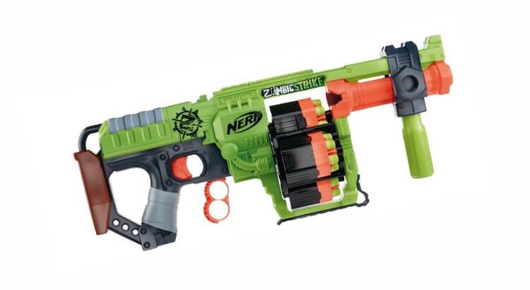 Migliori fucili giocattolo: Nerf Zombie Strike Doominator di Hasbro