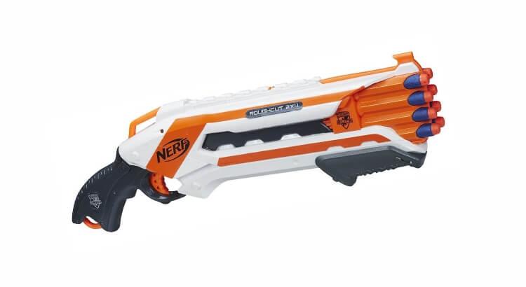Migliori fucili giocattolo: Nerf Rough Cut di Hasbro