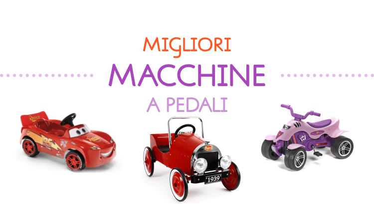 6 migliori macchine a pedali per i bimbi che amano la libertà