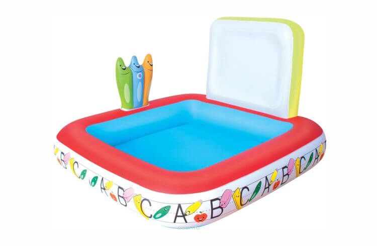Migliori piscine gonfiabili Piscinetta LEARN AND DRAW SCHOOL di Bestway