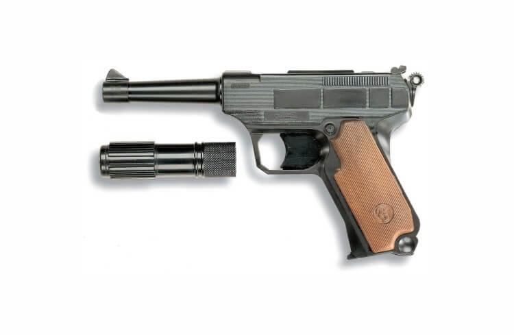 Migliori pistole giocattoloLionmatic con silenziatore Edison Giocattoli