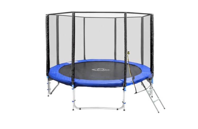 Migliori trampolini: Trampolino da giardino certificato TÜV SÜD di TecTake