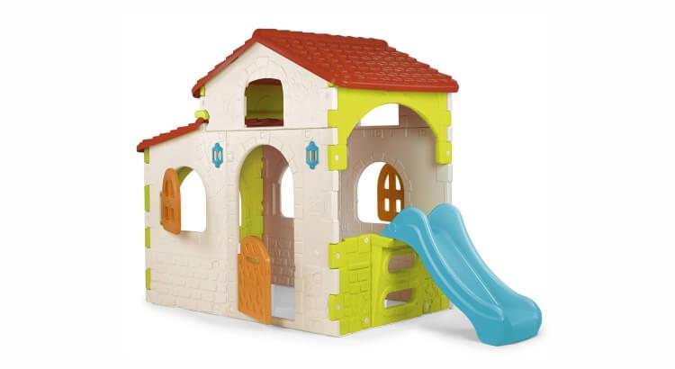 Migliori casette in legno con scivolo: Beauty House di Feber