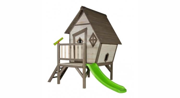 Migliori casette in legno con scivolo: Cabin XL di Sunny