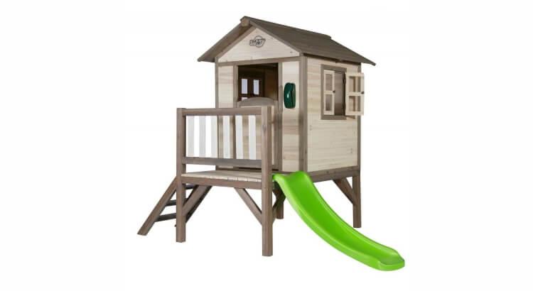 Migliori casette in legno con scivolo: Lodge XL di Sunny