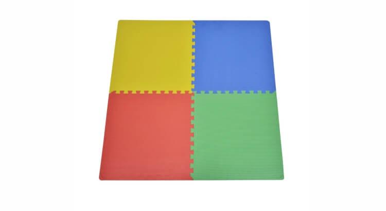 Migliori tappeti puzzle atossici:Tappeto puzzle da 8 pezzi di Outsunny