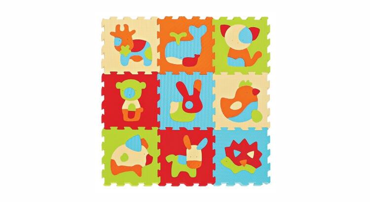 Migliori tappeti puzzle atossici:Tappeto puzzle Animali di Ludi