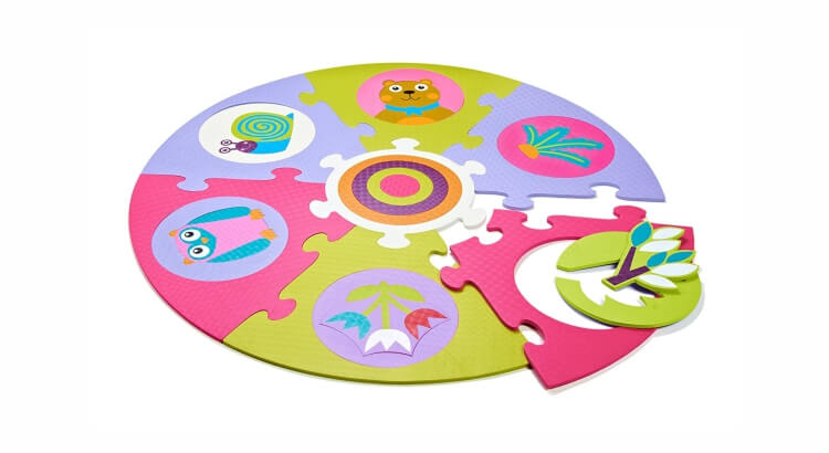 Migliori tappeti puzzle atossici:Tappeto Bosco di Oops