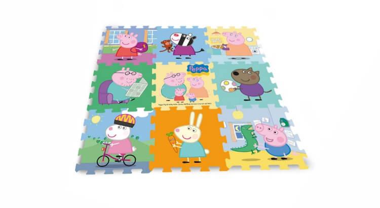 Migliori tappeti puzzle atossici:Tappeto puzzle Peppa Pig di Giochi Preziosi