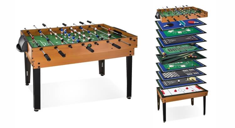 Migliori tavoli multigioco: Calcetto multigame 15 in 1 di Dema