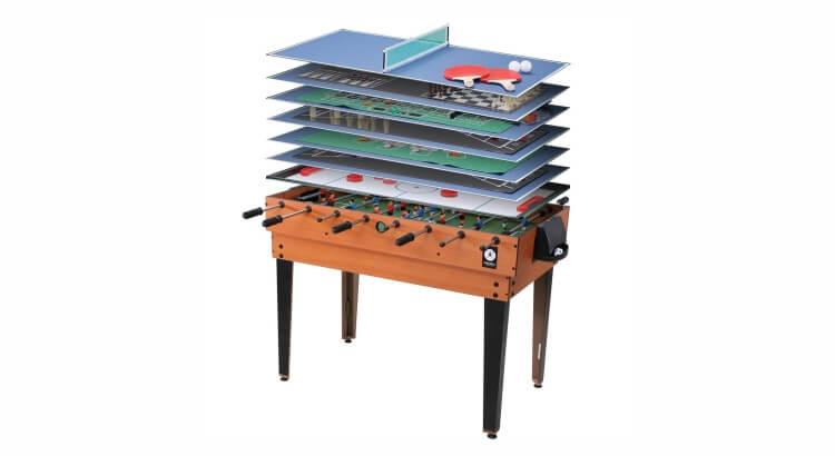 Migliori tavoli multigioco: Tavolo multigioco 15 in 1 di Miweba