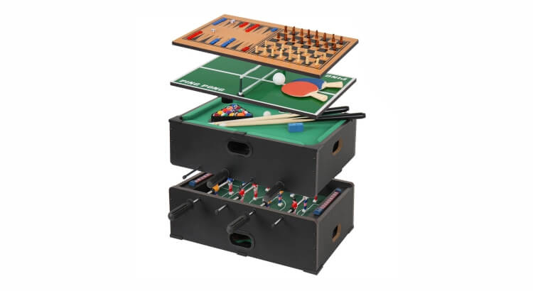 Migliori tavoli multigioco: Mini tavolo multigioco 5 in 1 di Jago